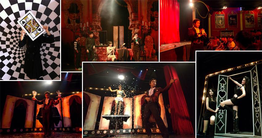 Tuxedo Magic Theatre มายากลโชว์พัทยา