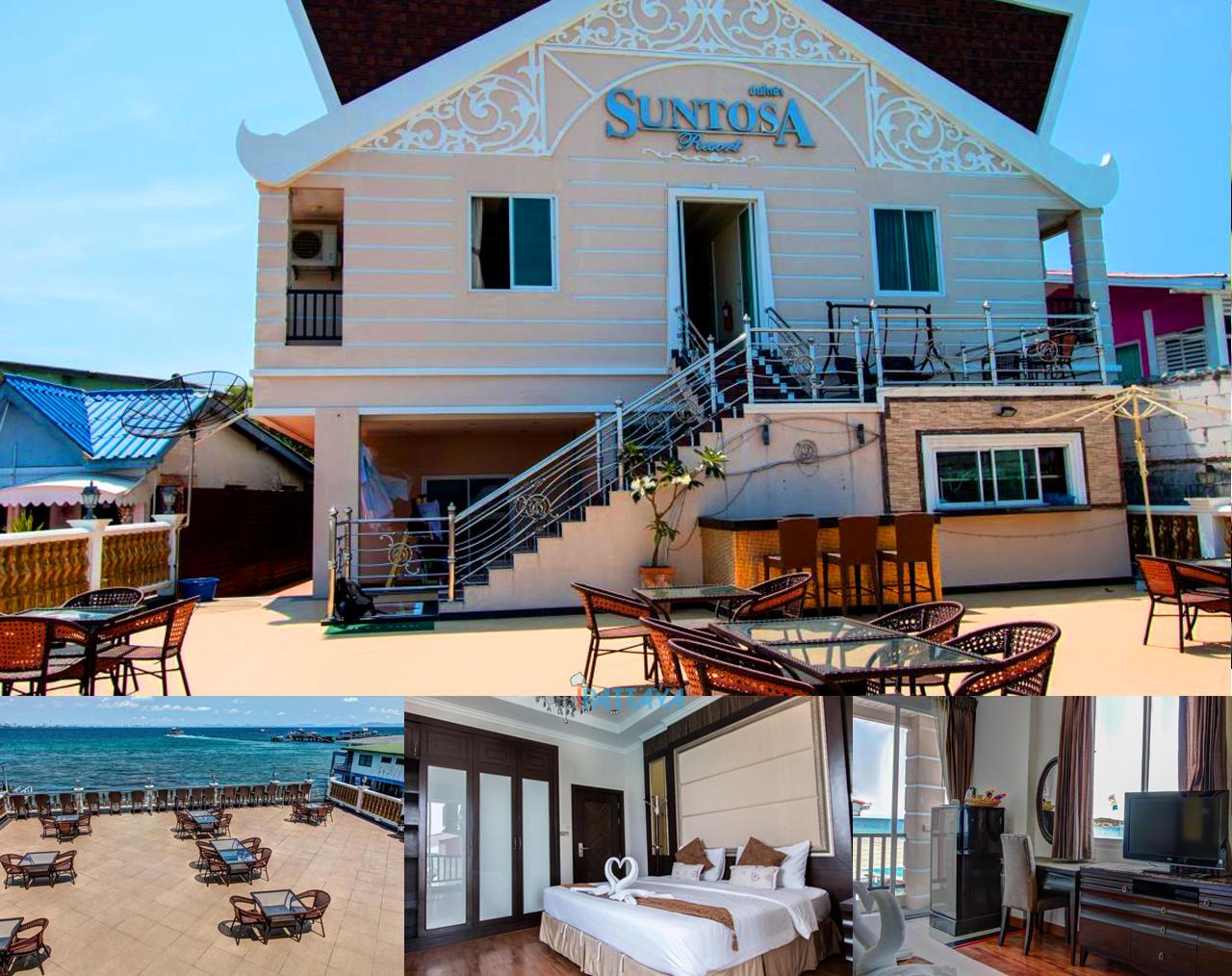 ห้องพักเกาะล้าน ซันโตซา รีสอร์ท