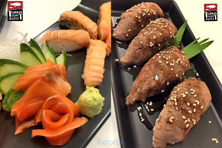 ร้านบุฟเฟต์ซาซิมิอาหารญี่ปุ่นพัทยา