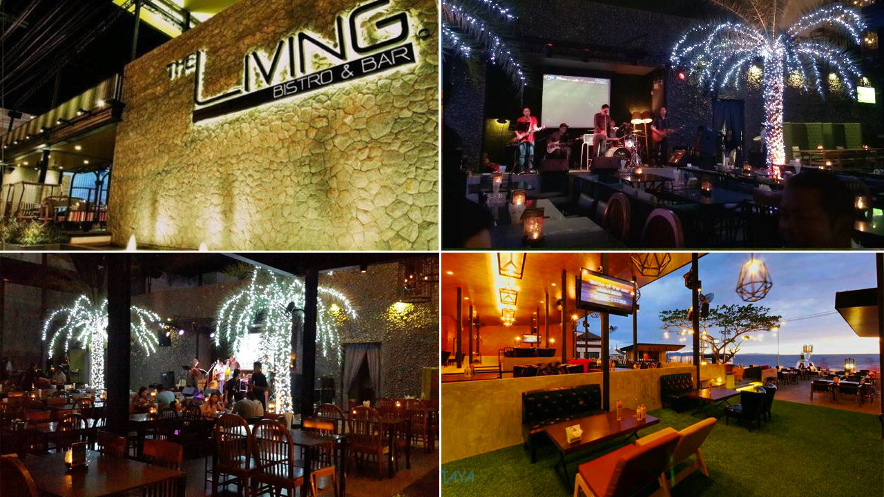 The Living Bistro&Bar ร้านนั่งชิลพัทยา