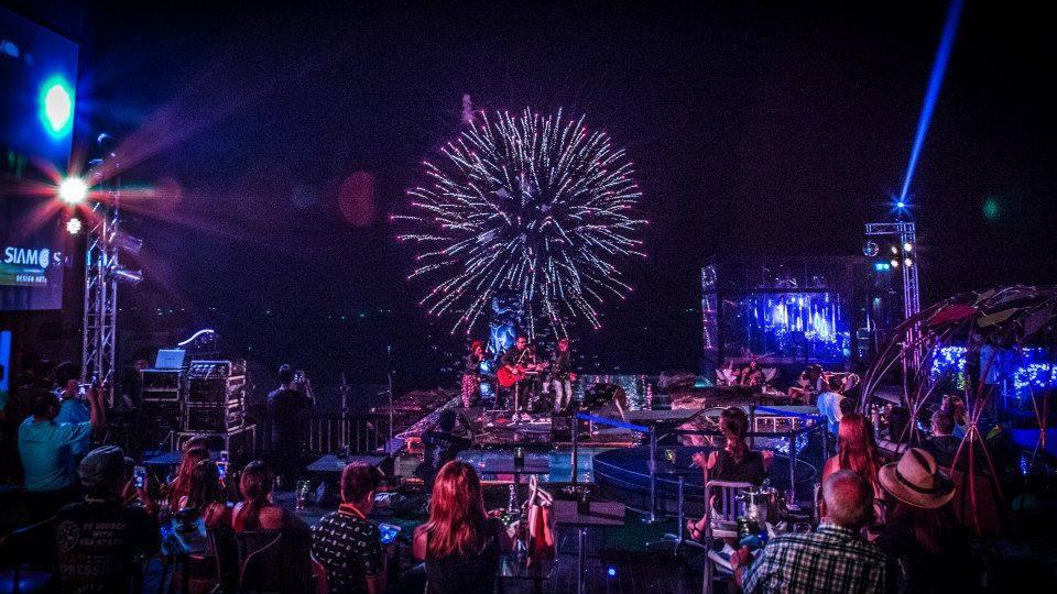 Pattaya Fireworks Festival-Siam