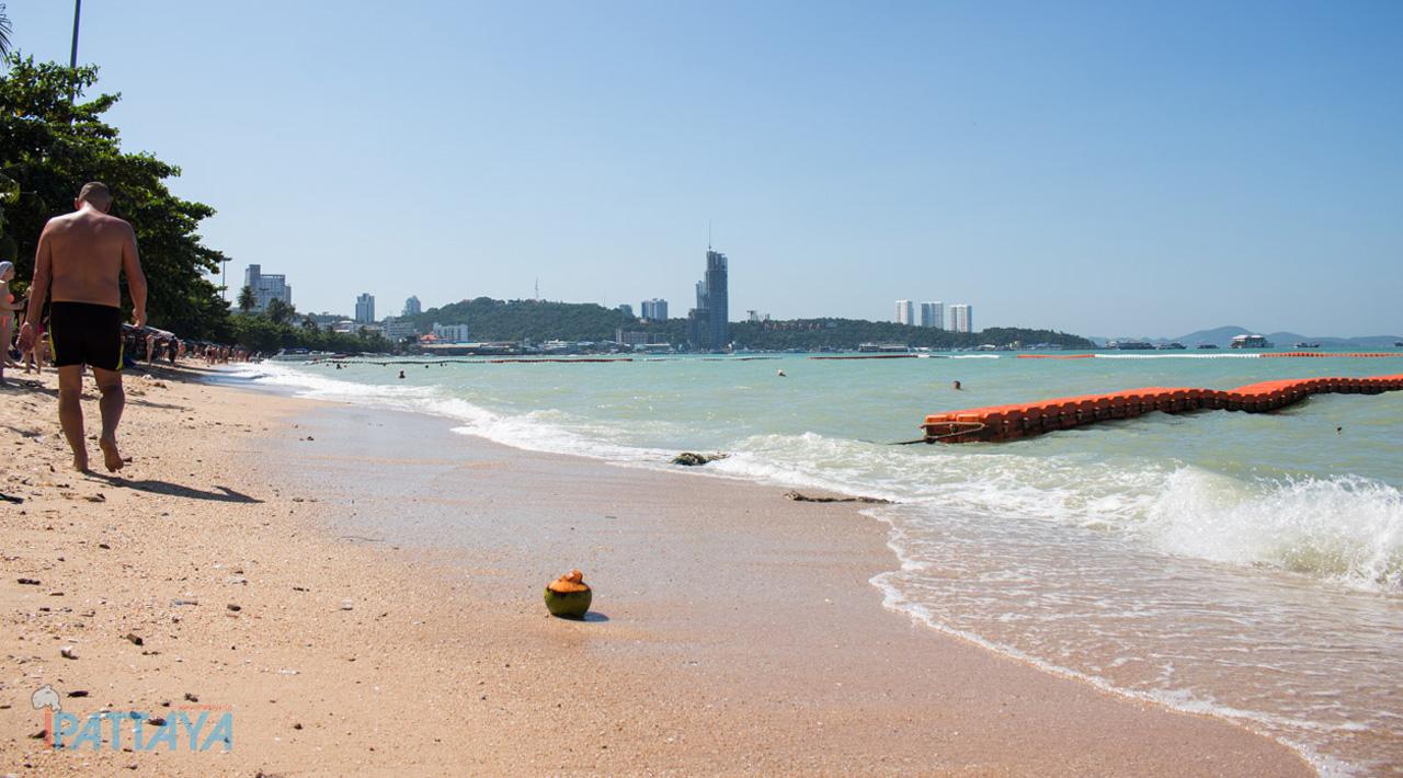 ชายหาดทะเลพัทยา Ipattaya เที่ยวไหนพัทยา