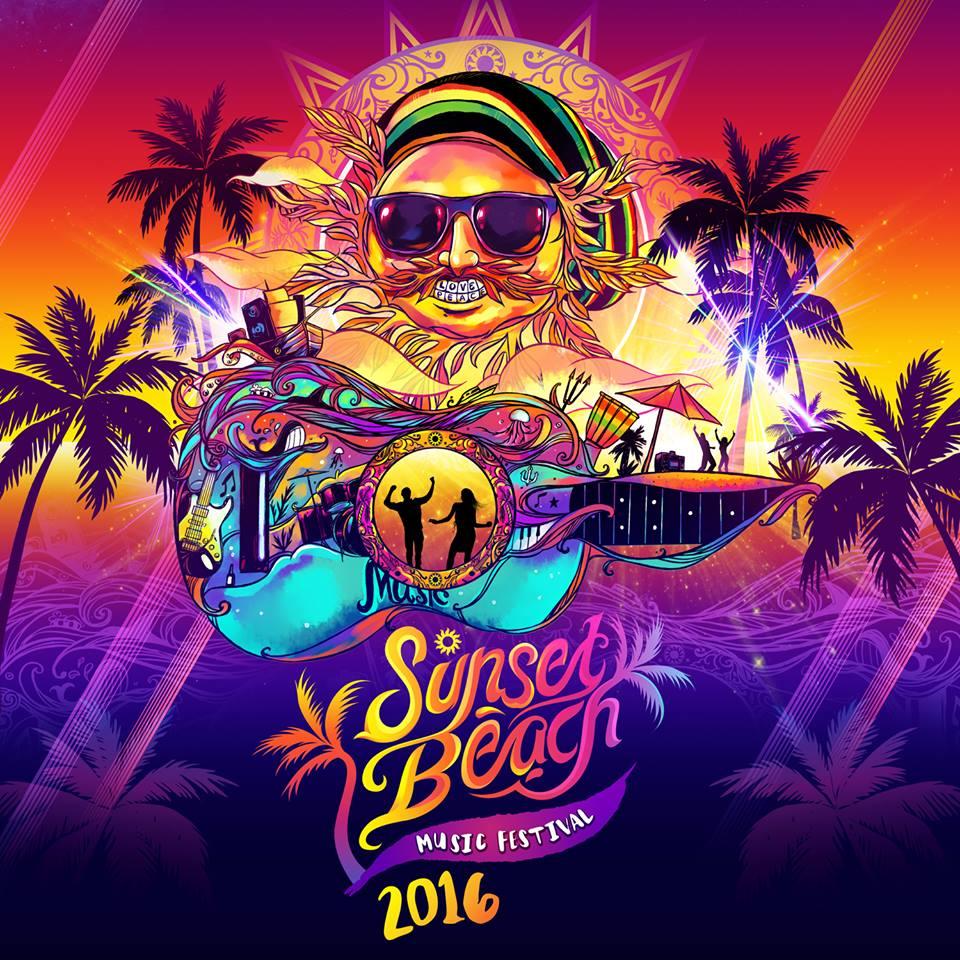 งานดนตรี เร้กเก้Sunsetbeachmusicfest 2016