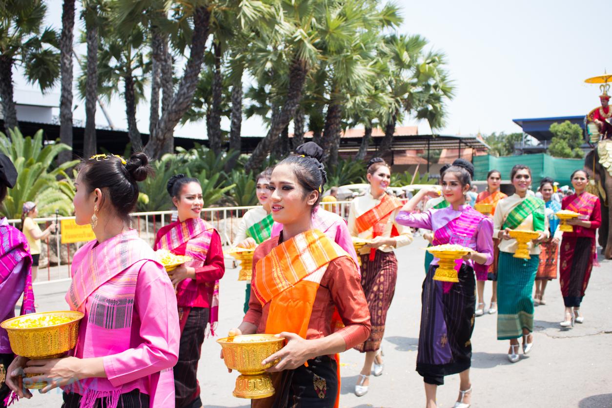 วันช้างไทยสวนนงนุชพัทยา4
