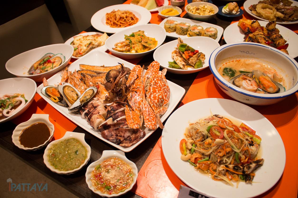 seafood buffet pattaya marriott courtyard pattaya19