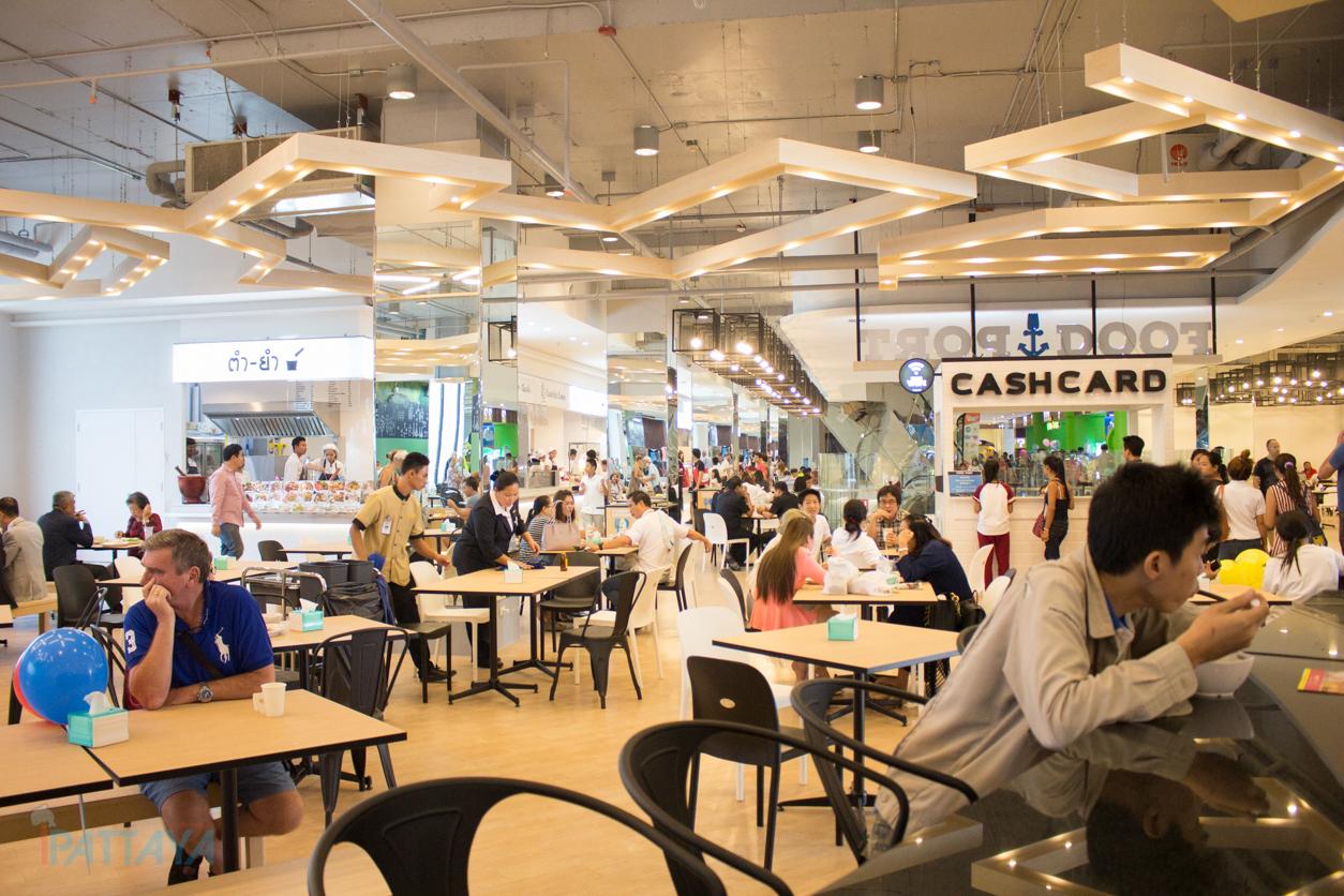 Habor mall pattaya food port