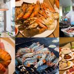รีวิวห้องอาหารโรงแรมบุฟเฟ่ต์ทะเลเผาพัทยา3